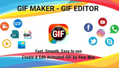 GIF Maker, GIF Editor, Video to GIF Pro Apk for Android (Paid Mod Premium)