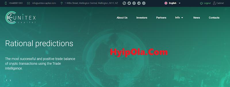[SCAM] Review Unitex Capital - Dự án đình đám tiếp theo cho năm 2020 - Lãi từ 1.3% hằng ngày