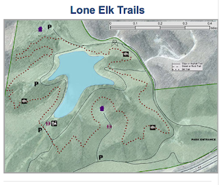 Lone Elk Park Map