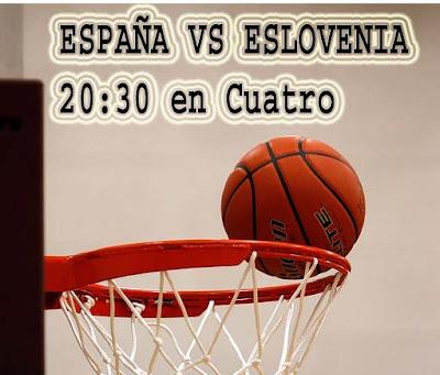espana eslovenia eurobasket