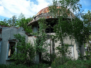 Жовква. Руїни музею Петра Нестерова