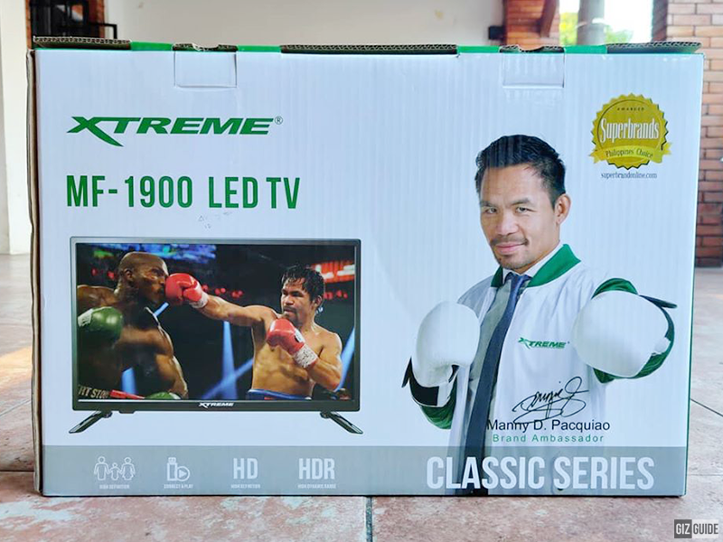 Christmas Giveaway: Brand new XTREME HD LED TV!