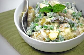 Asparagus&Potato Salad (Kuskonmaz&Patates Salatasi)