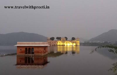 जल महल, जयपुर की यात्रा
