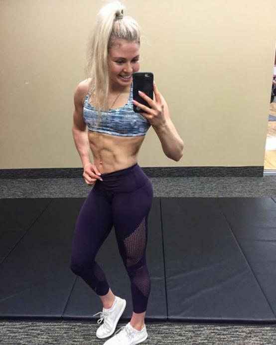 Fitness girl Kyla Ford