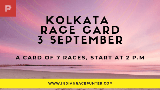 Kolkata Race Card,  free indian horse racing tips, trackeagle,racingpulse