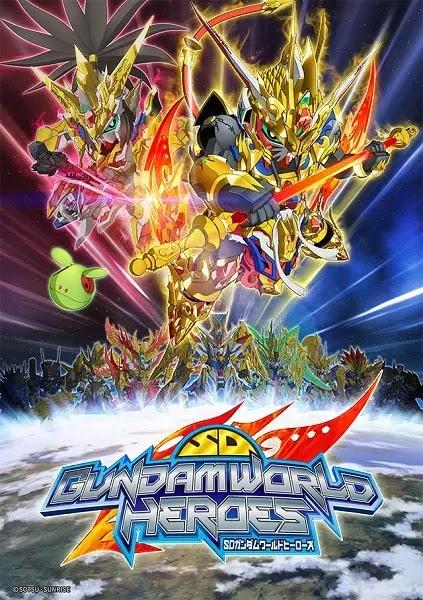 الحلقة 5 من انمي SD Gundam World Heroes مترجم عدة روابط