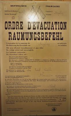 Ordre d'évacuation