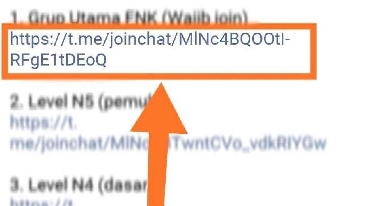cara masuk grup telegram melalui link