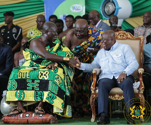 """Ghanaians Will Never Allow 'Review' Of Free SHS"" – President Akufo-Addo"