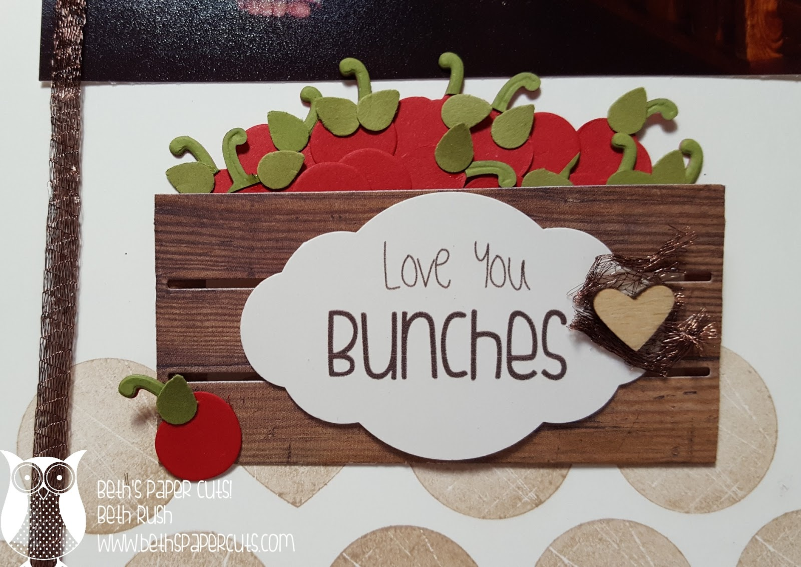 How to put scrapbook paper on wood - I Just Love These New Items From Stampin Up I Remembered That I Had Some Photos Of My Son With A Wooden Crate And So I Found Them And Put Together This