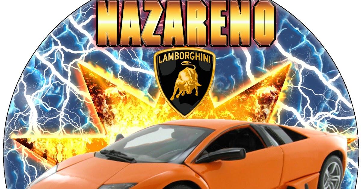 Www Decokit Com Kit Imprimible Lamborghini