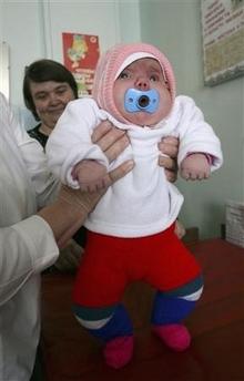Sibirya Kurdu Gibi Bebek