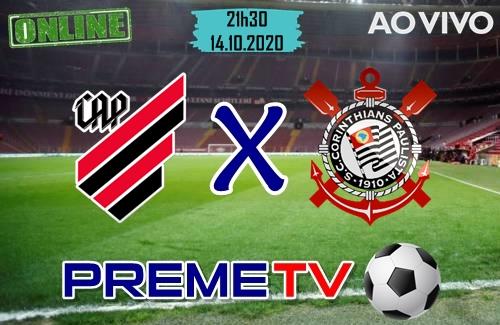 Athletico-PR x Corinthians Ao Vivo