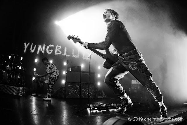 Yungblud at The Danforth Music Hall on October 6, 2019 Photo by John Ordean at One In Ten Words oneintenwords.com toronto indie alternative live music blog concert photography pictures photos nikon d750 camera yyz photographer