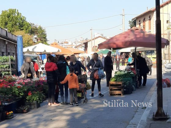 Στυλίδα: Η κίνηση στη Λαϊκή Αγορά