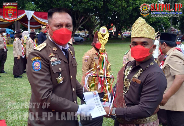 Pemenang Juara Lomba Media Informasi Covid-19 Bagi Pelaku Usaha di Lampung Barat