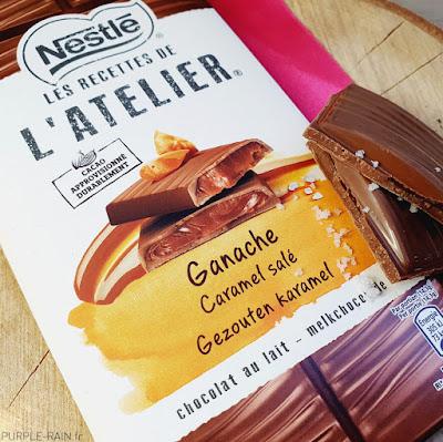 Blog PurpleRain Les recettes de l'Atelier de Nestlé