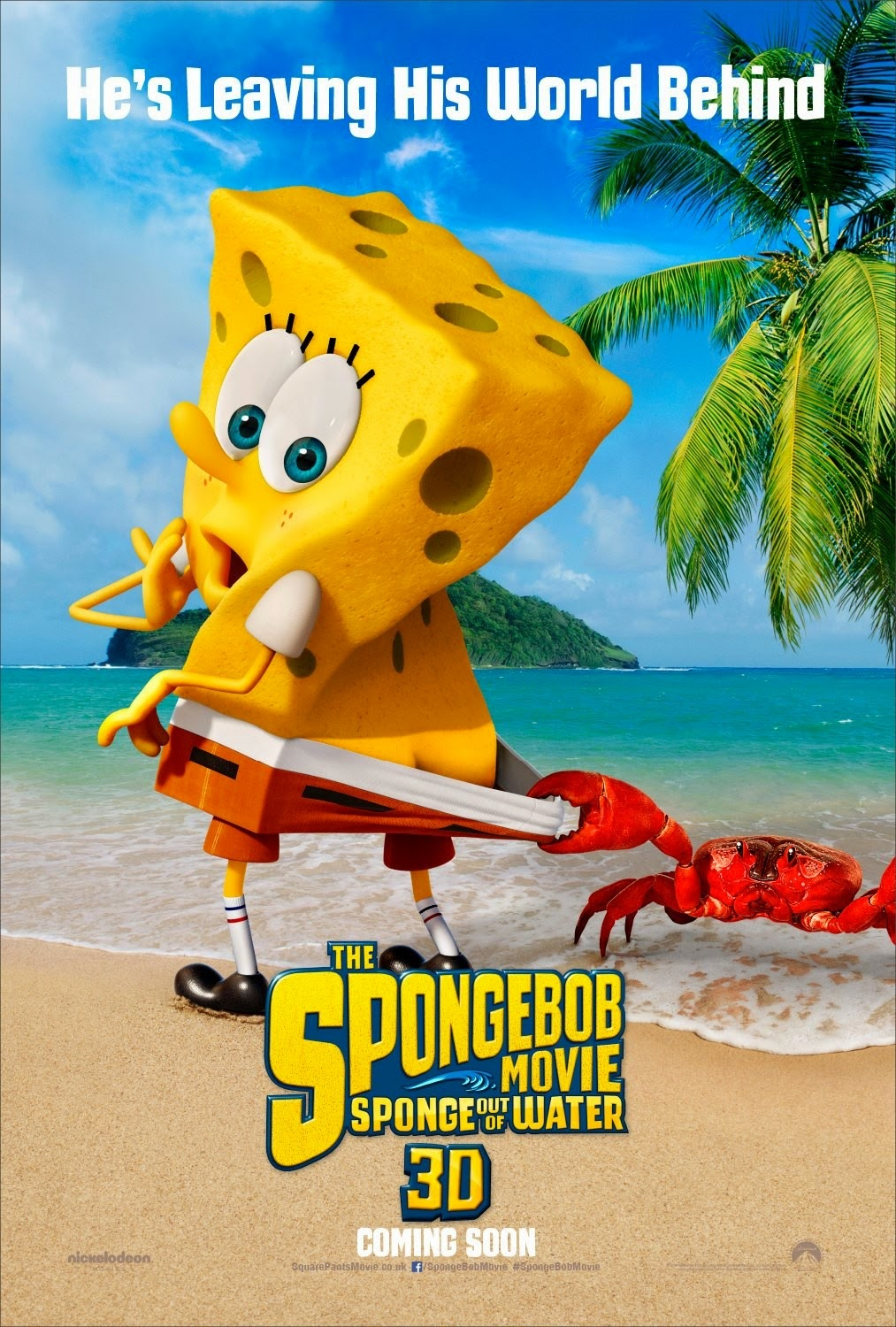 Nickelodeon Movies : nickelodeon, movies, NickALive!:, Nickelodeon, Movies, Unveils, First, SpongeBob, Movie:, Sponge, Water