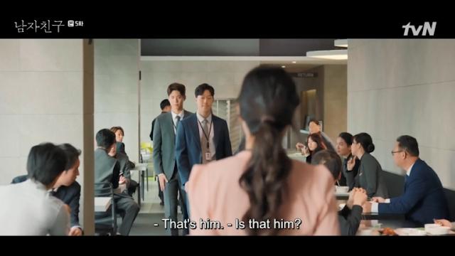 Hyeok dan menyuruh Tuan Nam untuk menjatuhkannya Sinopsis Encounter Episode 5