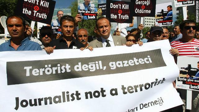 Turquía el carcelero de periodistas del mundo