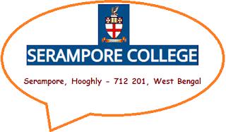 Serampore College, Serampore, Hooghly - 712 201, West Bengal