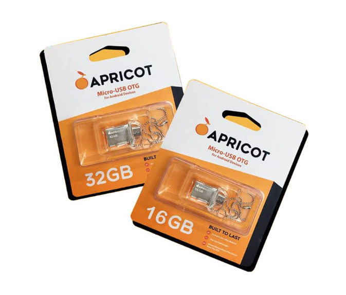Apricot microUSB OTG On The Go