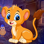 Games4king Find Lion Cub