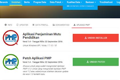 Cara Update Aplikasi PMP Versi 1.4 yang Benar