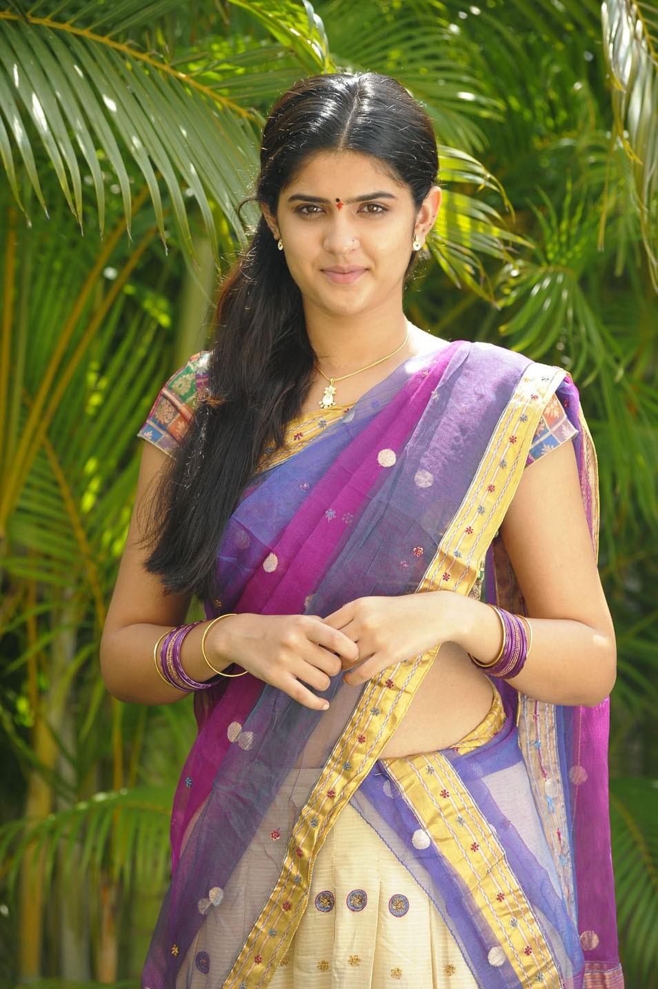 Deeksha unseen pics in half saree