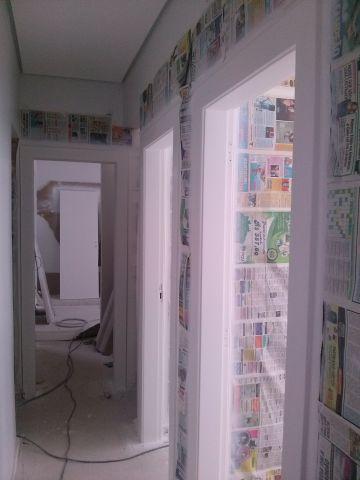 Pintando portas em BH.11