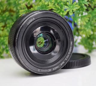 Lumix G 20mm f1.7 mark II