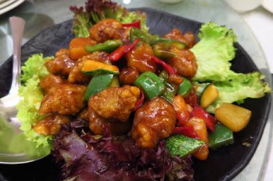 Chin Huat Live Seafood, sweet sour pork