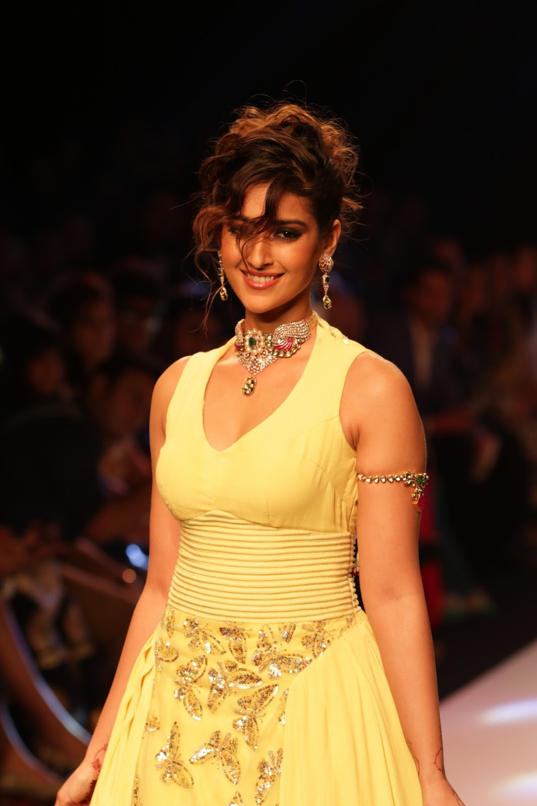 Ileana Ramp Walk Stills at IIJW 2015-HQ-Photo-24