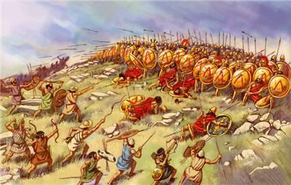 ambushed spartan