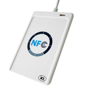 Smartcard Rfid Reader / Writer Acr122u Nfc + SDK - Rsolution