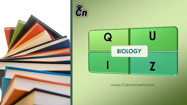 Biology Quiz, Careerneeti Logo, www.careerneeti.com