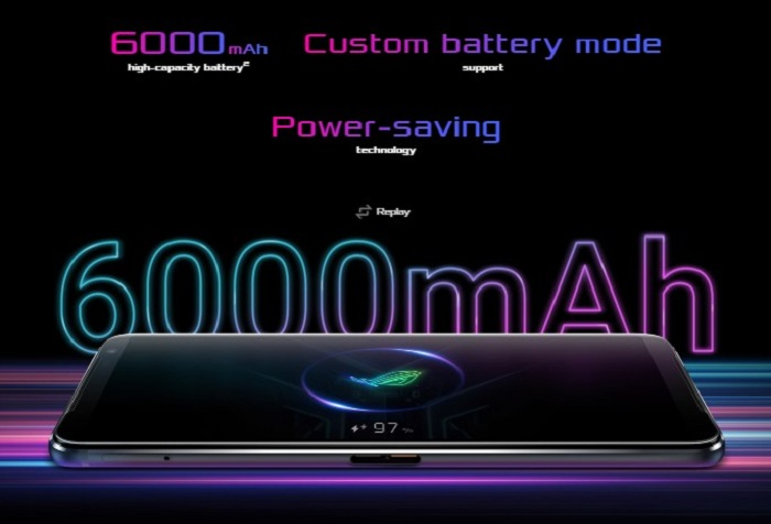 Asus ROG Phone 3-Battery Life Test 6000mah