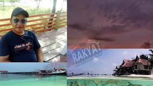 Kalahkan Keindahan Pantai Kuta Bali,  Kawasan Pulau Tinabo Dipuji Komisioner KPU