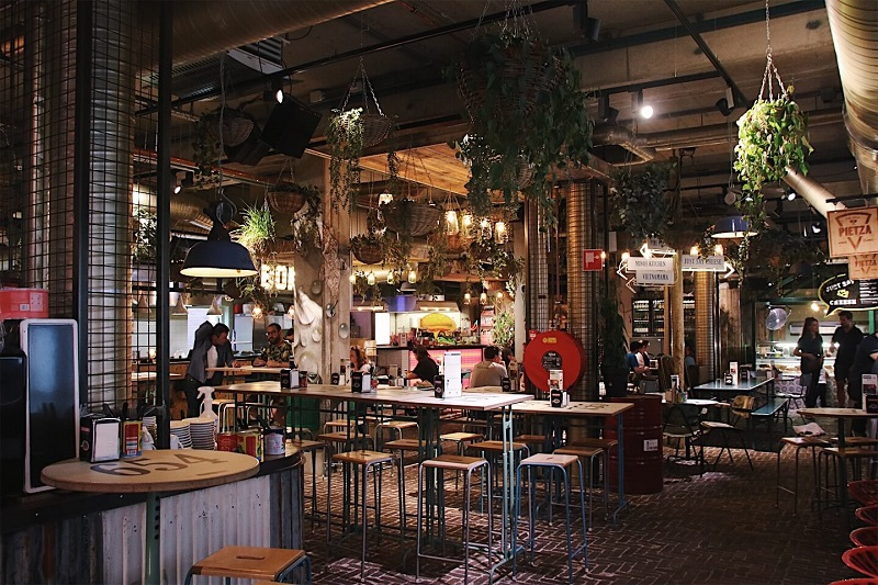 Gourmet Market Eindhoven Netherlands
