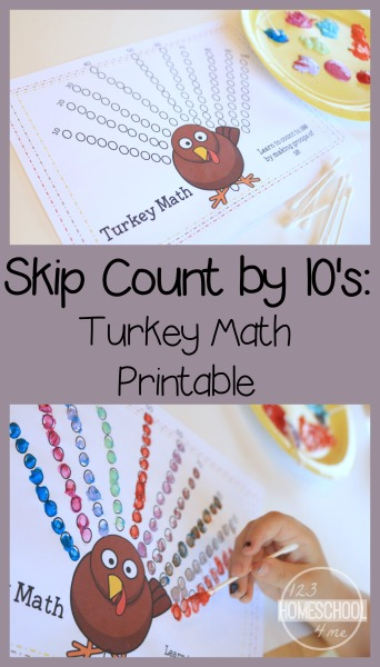 skip count printable for kids