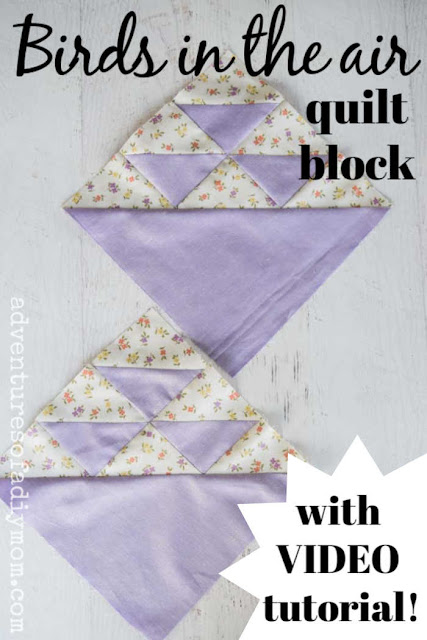 birds in the air quilt blocks