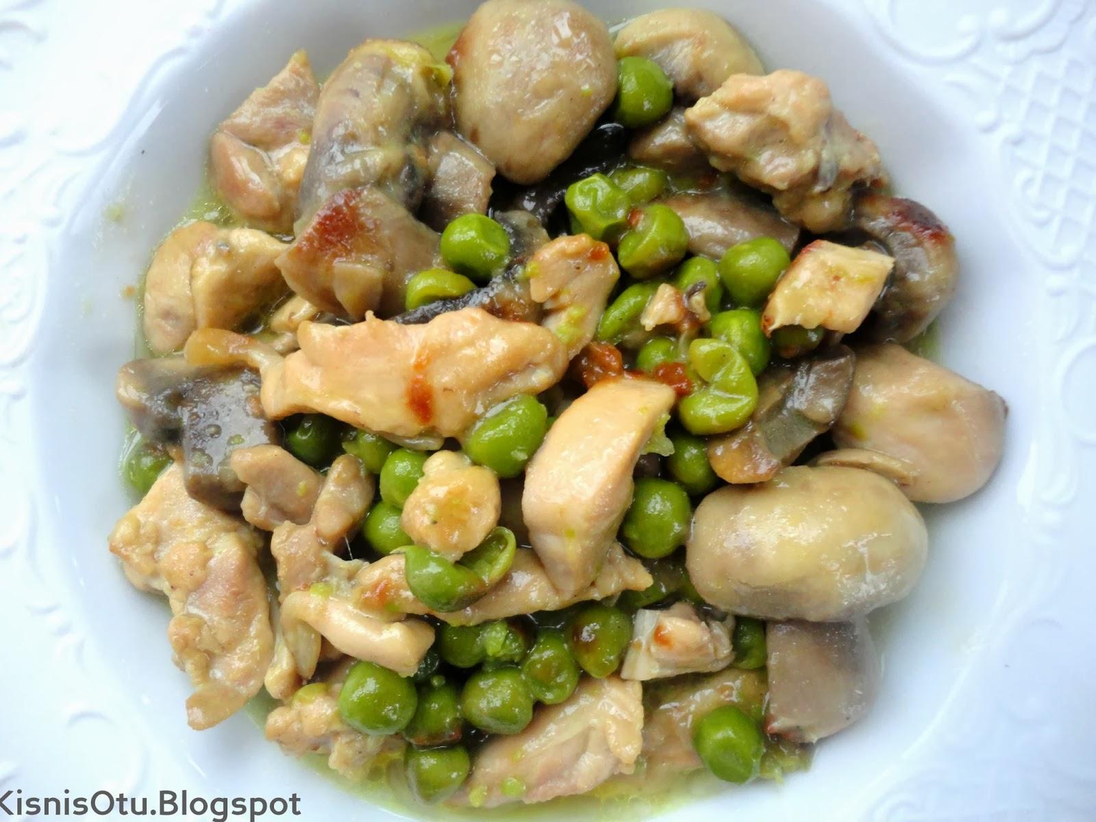 Bezelyeli, Kremalı, Tavuk, Tarifi, Yemek, Tarifleri, Körili tavuk tarifi, Kişniş