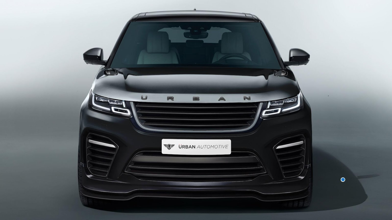 urban automotive 39 s range rover velar is almost an svr. Black Bedroom Furniture Sets. Home Design Ideas