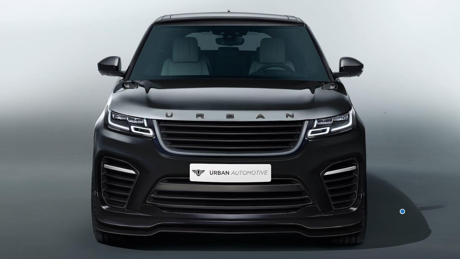 Range Rover Sport Svr 2018 >> Urban Automotive's Range Rover Velar Is Almost An SVR