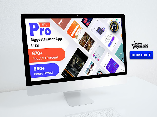 prokit - biggest flutter ui kit free download