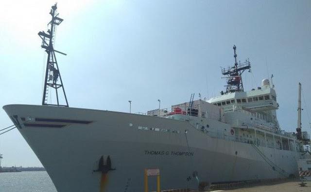 Tàu hải quân Mỹ tới Đài Loan