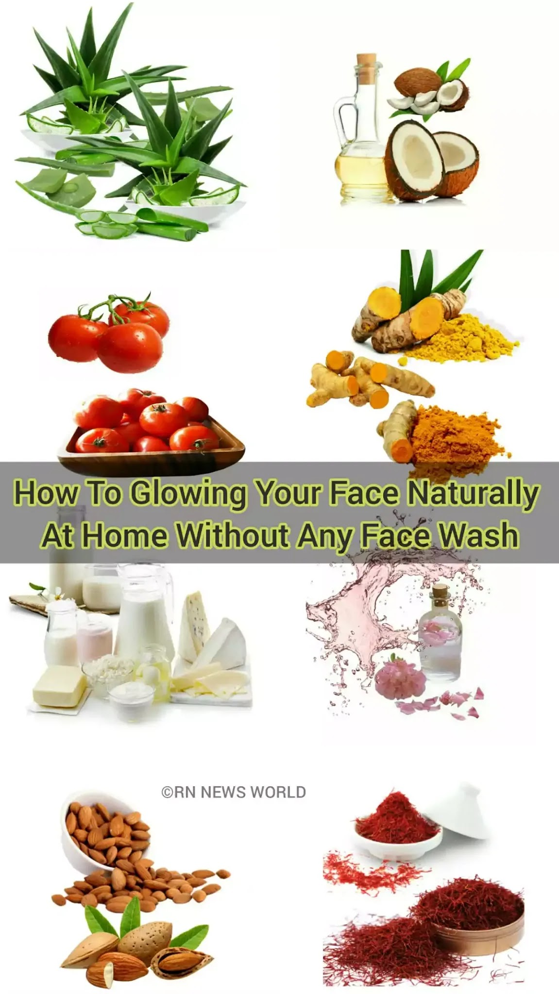 Natural Home Remedies For Glowing Skin Or Face