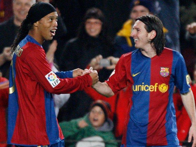 """He Taught Me Spanish"" - Ronaldinho Speaks On Lionel Messi Barcelona Relationship!"