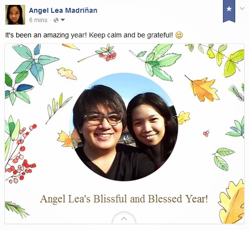 Angel Lea's Blissful and Blessed Year
